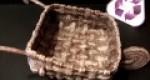 Manualidad Carretilla hecha con papel para decoración
